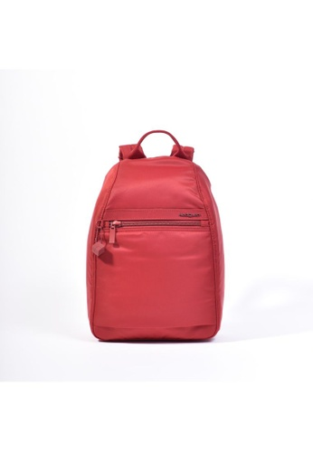 Hedgren red Hedgren Vogue Backpack Large RFID Sun Dried Tomato - 8.03L D465CACF57EF89GS_1