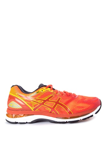 Asics black and red and gold GEL-Nimbus 19 Running Shoes AS445SH0IOCPPH_1