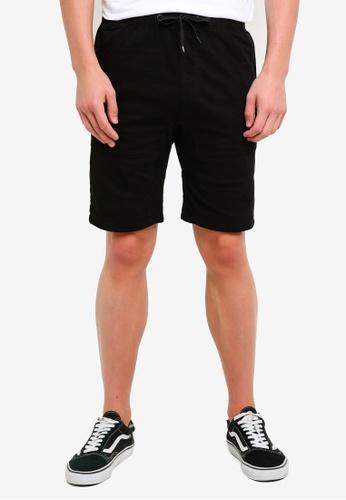 Factorie 黑色 Walk Shorts E7155AAB97E070GS_1