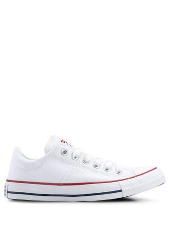fd4e28b7292a Converse white Chuck Taylor All Star Madison True Faves Ox Sneakers  FCBADSH80A5CBBGS 1