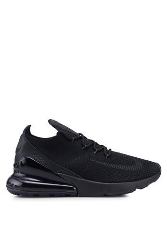 Nike black Nike Air Max 270 Flyknit Shoes BE4ECSH4EFE962GS_1