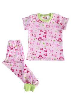 Owl Pajama Set