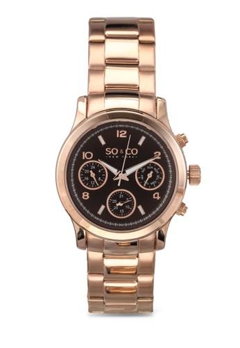 SO&CO gold Madison Watch 5012 SO540AC0SHMOMY_1