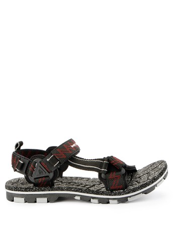 Homyped black Nabire 01 Men Sandal Gunung 39675SH7B9B836GS_1