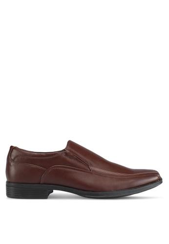 Bata brown Bata Slip On Formal Shoes BA893SHF699C74GS_1