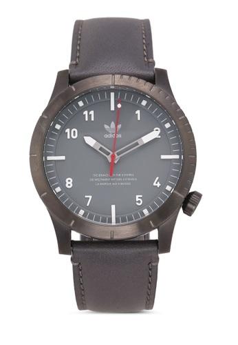 Adidas grey adidas originals Cypher LX1 Watch FF1EAAC7D6165CGS_1