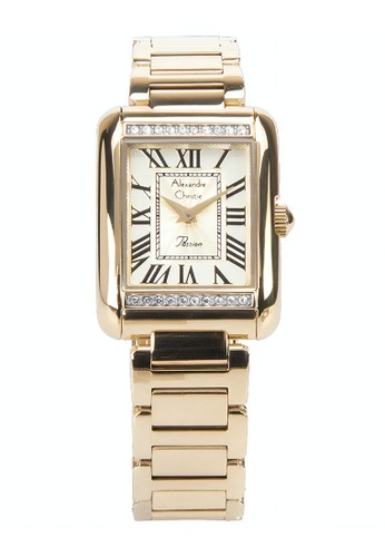 Alexandre Christie gold Alexandre Christie Jam Tangan Wanita - Light Gold - Stainless Steel - 2660 LHBGPIV  13E10AC1E64ABEGS_1