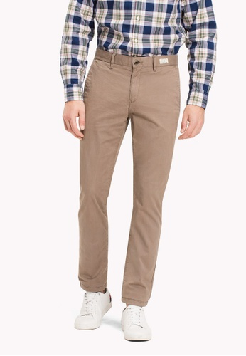 Tommy Hilfiger brown CORE DENTON STRAIGHT CHINO 01A42AA4997CE7GS_1