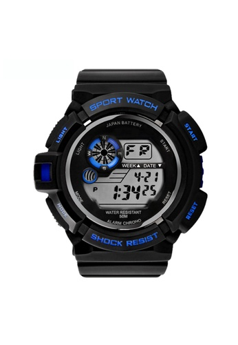 Greatnes Trading Corp blue Military LED Water Resistant Sports Wristwatch SKM-0939 GR861AC61IOKPH_1