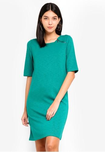 ONLY green Nadia Dress C3B6EAA995BB23GS_1