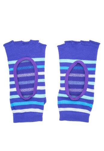 Goldtoe multi Powersox Ladies Toe Socks Stripes with Window GO028AA72PCPPH_1