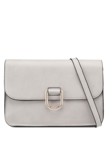 dd3c610f52fa Buy Dorothy Perkins Grey D-Ring Crossbody Bag Online on ZALORA Singapore