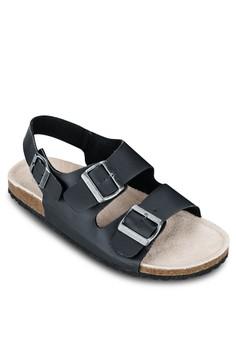 Basic Double Strap Sandals