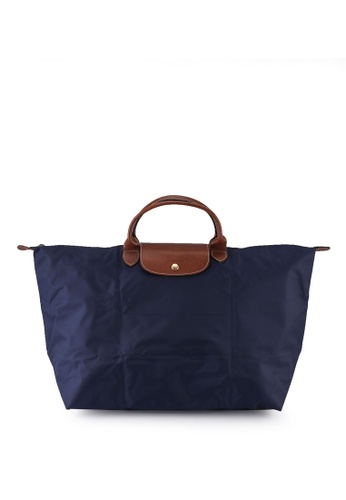 LONGCHAMP blue Le Pliage Original Travel Bag L (nt) E7D39ACF81E61EGS_1