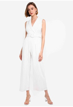 ba82a03e50c 10% OFF Forever New Farrah Stripe Tux Jumpsuit RM 469.00 NOW RM 421.90  Sizes 6 8 10 12 14