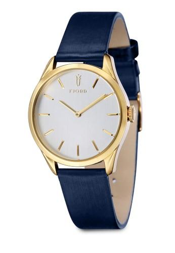 VENDELA 雙指針zalora 包包評價皮革錶, 錶類, 皮革錶帶