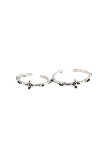 OrBeing white Premium S925 Sliver Geometric Ring 96863AC69F6994GS_1