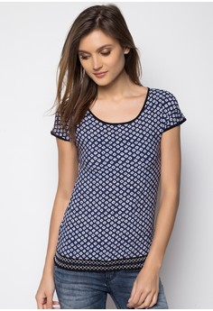Continuous Sleeves Blouse