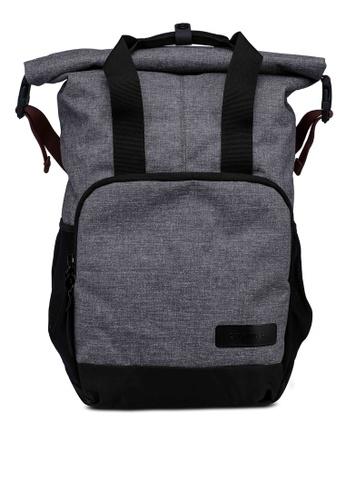 CRUMPLER grey Equation Backpack 26FBAAC7D36B1DGS_1
