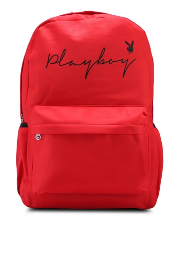 Playboy red Playboy Backpack 1962BACEEFB5D1GS_1