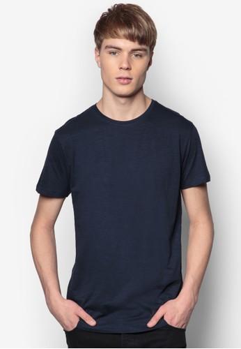 Rosti 素色純棉TEE, 服飾zalora 泳衣, 素色T恤