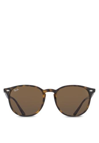 Ray-Ban 褐色 RB4259F Sunglasses RA896GL10UUJMY_1