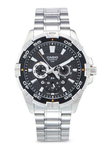 Casio silver Casio MTD-1069D-1AVDF Watch B9257AC6DA5C4FGS_1