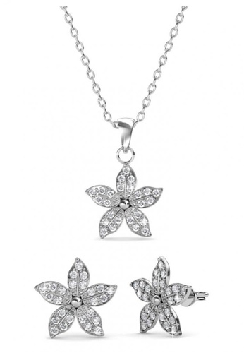 Her Jewellery silver Her Jewellery Bloom Set with Premium Grade Crystals from Austria 2F965ACECAB4A6GS_1