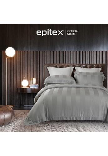 Epitex silver Cressent Dale Premium 1200TC Bamboo BD5804-5 Dark Grey Bedset (w quilt cover) 1D3FCHL0AB89B8GS_1