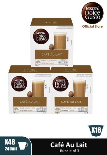 NESCAFE Dolce Gusto [3 Boxes] NESCAFE Dolce Gusto Cafe Au Lait Capsules (16 servings Per Box) DFEA1ES268E9D9GS_1