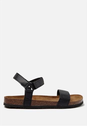 Rubi black Rex Velcro Sandal 7C55BSHD646436GS_1