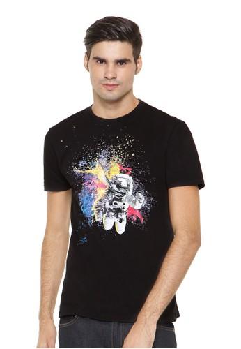 Poshboy T-shirt Print Astronot
