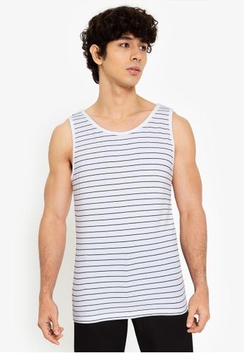 H&M white Cotton jersey vest top D48F7AAC0CFC21GS_1