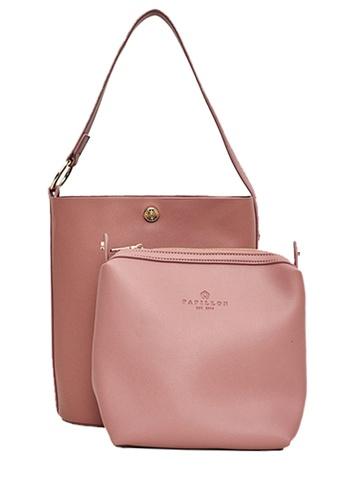 Papillon Clutch pink Calla Bucket Bag 7CCDCAC3AF6B8DGS_1