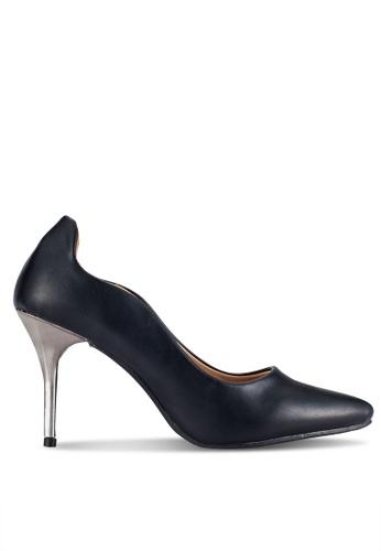 Alfio Raldo black Pointed Toe Heels AL803SH0R9OWMY_1