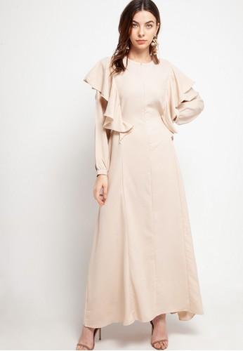 Covering Story beige Nitha Dress - D 98E7BAAF89980DGS_1