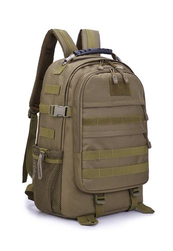 Lara 褐色 男士戶外運動輕便抗震透氣背包 - 棕色 B5F6AAC9A53CE5GS_1