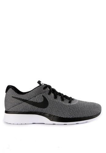 Nike black and multi Men's Nike Tanjun Racer Running Shoes 22447SHE066EA8GS_1