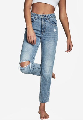 Cotton On blue Mom Jeans 76470AAF54B479GS_1