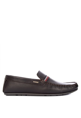 Tommy Hilfiger black Andrew 7A Loafers & Moccasins 951B4SH5E75124GS_1