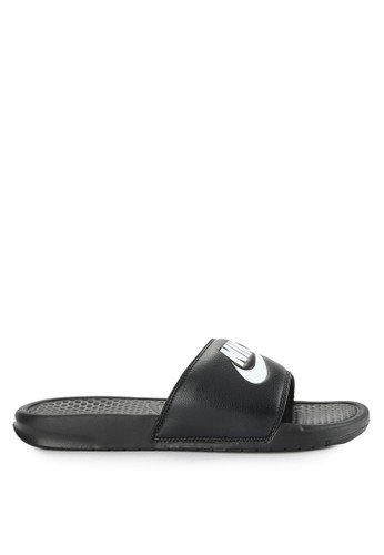 "Nike black Men's Nike Benassi ""Just Do It."" Sandals DC0FFSHF54B4E0GS_1"