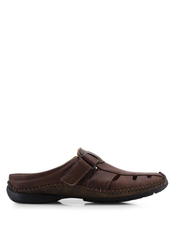 Louis Cuppers 褐色 Casual Sandals F1C6ASHFD1C67BGS_1