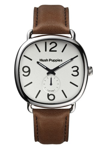 Hush Puppies Watches white and brown Casual Men's Watches HP 3852M.2501 3CC46AC38EA2FBGS_1