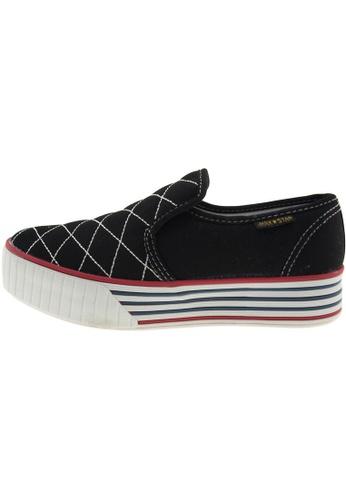 Maxstar Maxstar Women's C30 Stitched Platform Canvas Slip On Shoes US Women Size MA168SH44CAPHK_1