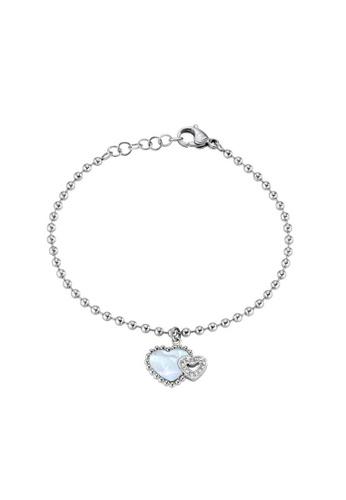Morellato silver Sempreinsieme Bracelet SAGF09 Steel Nacre Crystals 0BB86AC626B132GS_1