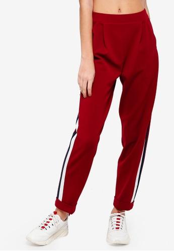 Buy Miss Selfridge Side Stripe Jogger Zalora Hk