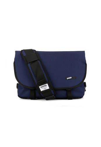 Peeps navy Essential Messenger Bag C7161AC1D164E6GS_1