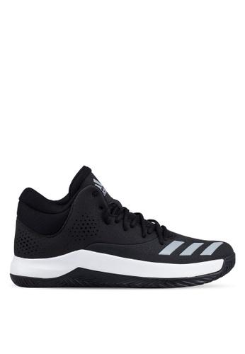 adidas black adidas court fury 2017 AD372SH0RS8QMY_1