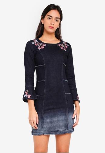 Desigual blue Laura Dress 057BBAA0D665ACGS_1
