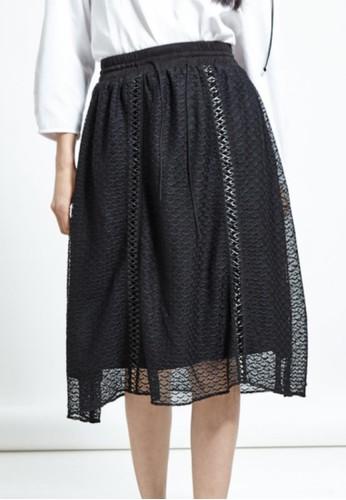 皮esprit門市繩休閒五分裙, 服飾, 及膝裙